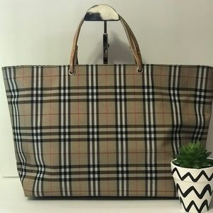 Authentic Burberry Brown Tote Bag